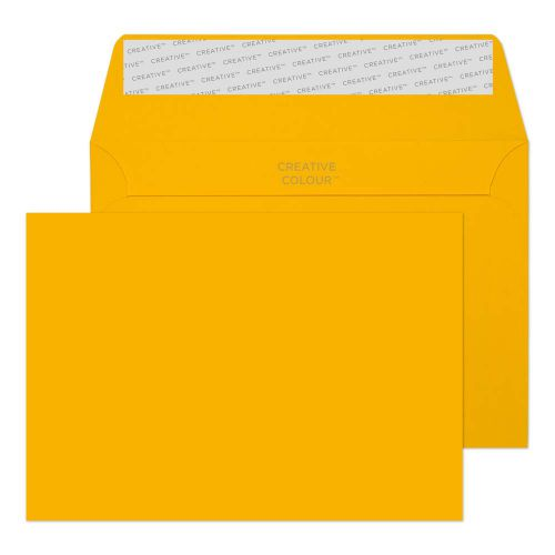 Creative Colour Egg Yellow Peel and Seal Wallet C6 114x162mm Ref 104 [Pack 500] *10 Day Leadtime*