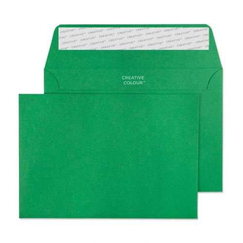 Blake Creative Colour Avocado Green Peel & Seal Wallet 114X162mm 120Gm2 Pack 500 Code 108 3P