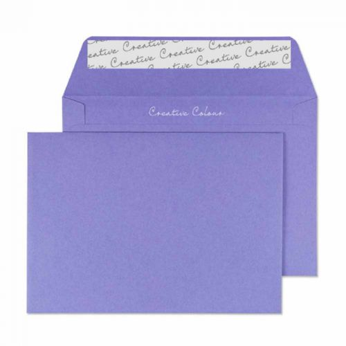Creative Colour Summer Violet P&S Wallet C6 114x162mm Ref 111 [Pack 500] *10 Day Leadtime*