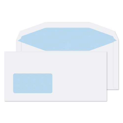 Blake Purely Everyday White Window Gummed Mailer 110X220mm 90Gm2 Pack 1000 Code 112204Cbc 3P