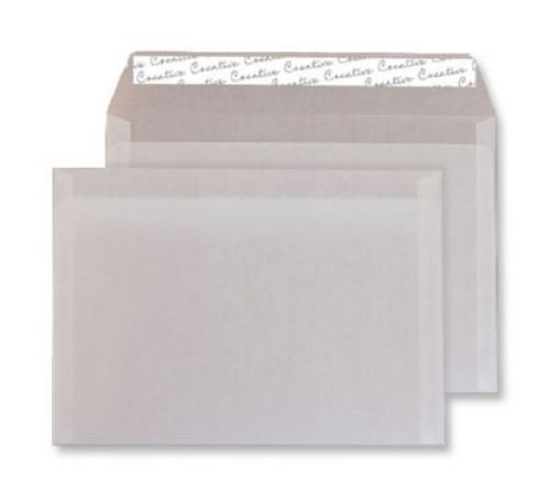 Creative Senses Wallet P&S Translucent White 110gsm C6 114x162mm Ref 115 Pk 500 *10 Day Leadtime*