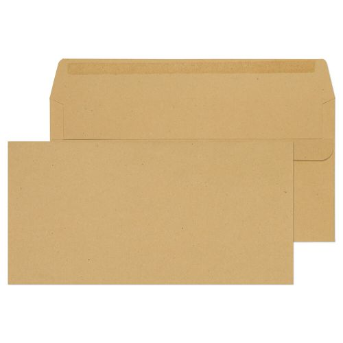 Purely Everyday Manilla Self Seal Wallet DL 110x220mm Ref 11882 [Pack 1000] *10 Day Leadtime*