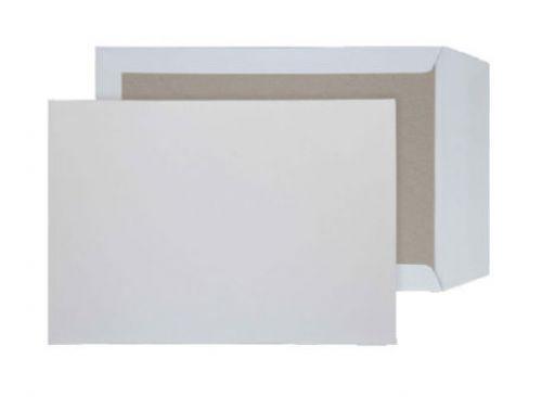 Blake Purely Packaging White Peel & Seal Board Back Pocket 324x229mm 120gsm Pack 125 Code 12935