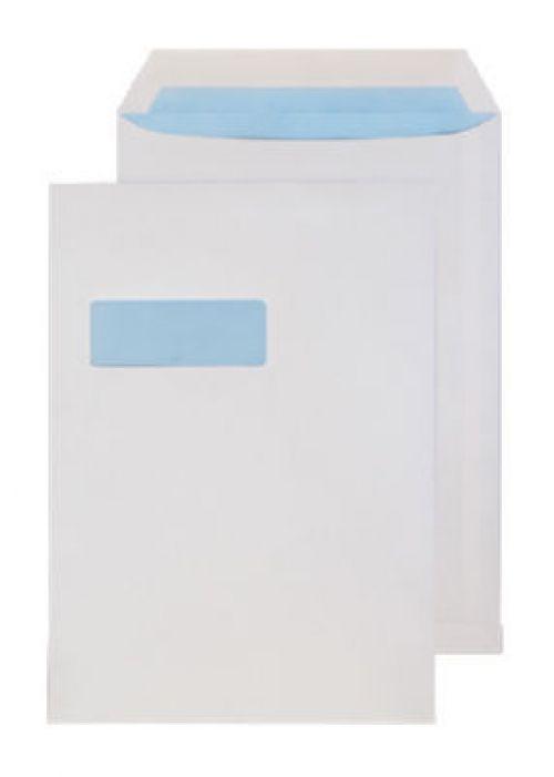 Blake Purely Everyday White Window Gummed Pocket 324X229mm 100Gm2 Pack 250 Code 13056 3P