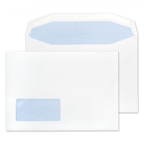 Purely Everyday Mailer Gummed Low Window White 90gsm C5 162x229mm Ref 1376 Pk 500 *10 Day Leadtime*