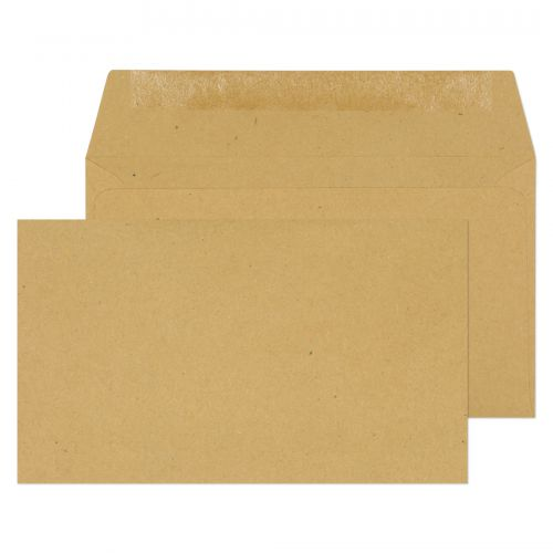 Purely Everyday Manilla Gummed Wallet 89x152mm Ref 13770 [Pack 1000] *10 Day Leadtime*