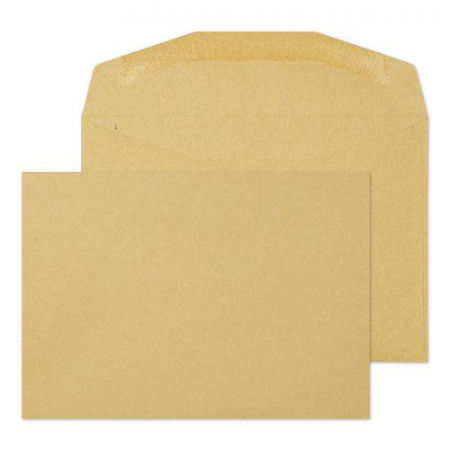Blake Purely Everyday Manilla Gummed Mailer 114X162mm 80Gm2 Pack 1000 Code 13775 3P