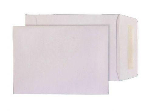 Blake Purely Everyday White Gummed Pocket 229X162mm 90Gm2 Pack 500 Code 13847 3P