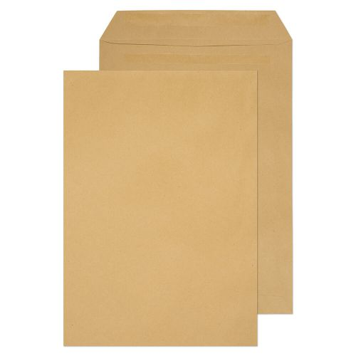 Value Pocket S/S Plain C4 324x229mm 80gsm Manilla PK250