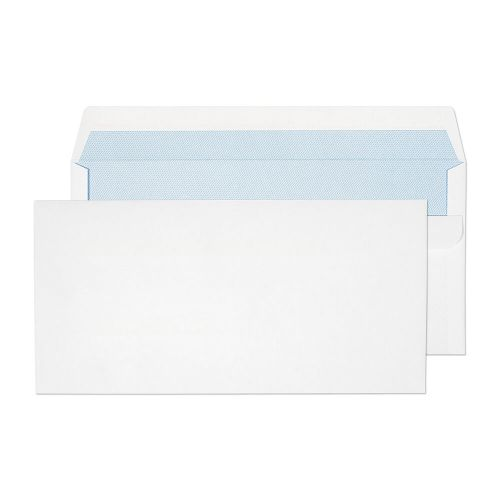 Purely Everyday White Self Seal Wallet DL 110x220mm Ref 13882 [Pack 1000] *10 Day Leadtime*