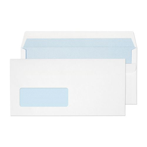 Blake Purely Everyday White Window Self Seal Walle t 110X220mm 90Gm2 Pack 1000 Code 13884 3P