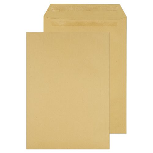 Value Pocket S/S Plain C4 324x229mm 115gsm Manilla PK250