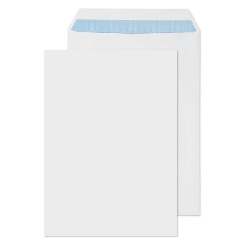 Blake Purely Everyday White Self Seal Pocket 324X229mm 100Gm2 Pack 250 Code 13891 3P