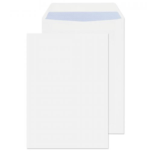 Blake Purely Everyday White Self Seal Pocket 229X1 62mm 90Gm2 Pack 500 Code 13893 3P