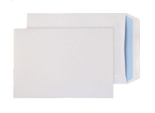 Blake Purely Everyday White Window Self Seal Pocket 229x162mm 90gsm Pack 25 Code 13084/25 PR