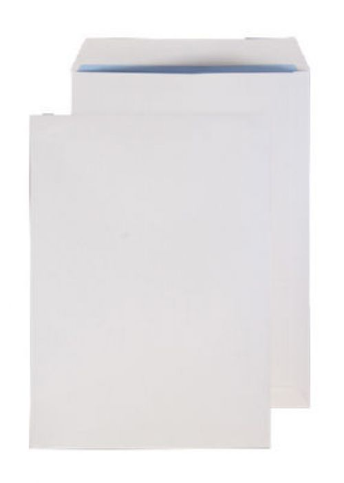 Blake Purely Everyday White Gummed Pocket 324X229m m 120Gm2 Pack 250 Code 14856 3P