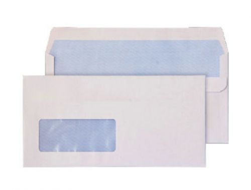Blake Purely Everyday White Window Self Seal Wallet 110X220mm 90Gm2 Pack 1000 Code 14884 3P