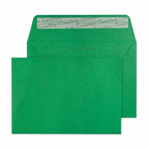 Blake Creative Colour Avocado Green Peel & Seal Wallet 114x162mm 120gsm Pack 25 Code 15108