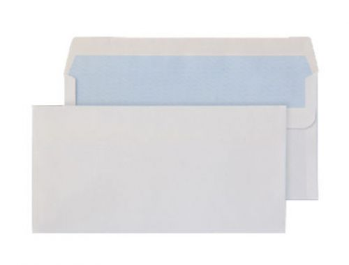 Purely Everyday White Self Seal Wallet DL+ 114x229mm Ref 15882 [Pack 1000] *10 Day Leadtime*