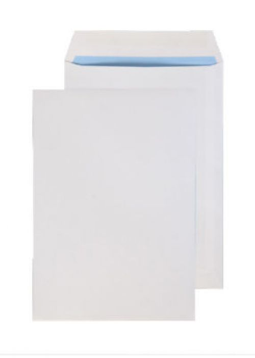 Purely Everyday White Gummed Pocket 254x178mm Ref 2086 [Pack 500] *10 Day Leadtime*
