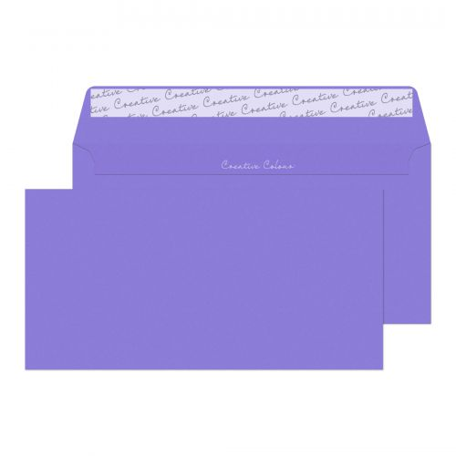 Blake Creative Colour Summer Violet Peel & Seal Wa llet 114X229mm 120Gm2 Pack 500 Code 211 3P
