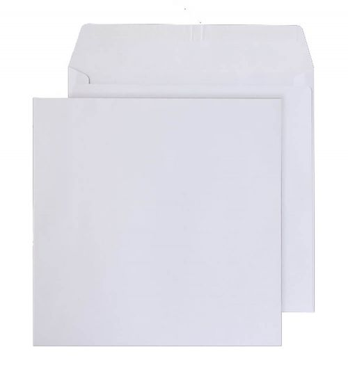 Blake Purely Everyday Ultra White Wove Peel & Seal  Square Wallet 155X155mm 120G Pk500 Code 2155Ps 3