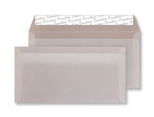 Creative Senses Wallet P&S Translucent White 110gsm DL+ 114x229mm Ref 215 Pk 500 *10 Day Leadtime*