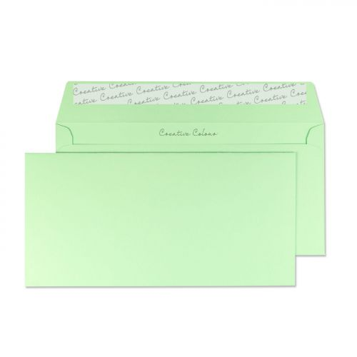 Creative Colour Spearmint Green P&S Wallet DL+ 114x229mm Ref 217 [Pack 500] *10 Day Leadtime*