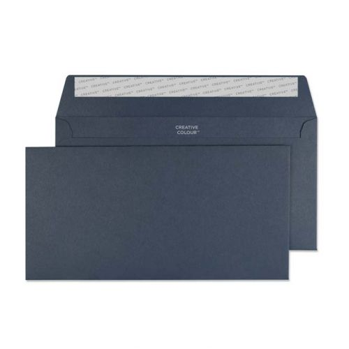 Creative Colour Wallet P&S Oxford Blue 120gsm DL+ 114x229mm Ref 220 [Pack 500] *10 Day Leadtime*