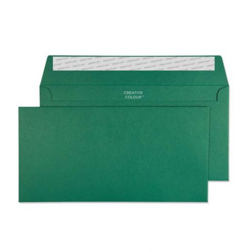 Creative Colour Wallet P&S British Racing Green 120gsm DL+ 114x229 Ref 221 Pk 500 *10 Day Leadtime*