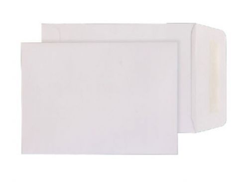 Purely Everyday Pocket Gummed White 90gsm 190x127mm Ref 2225 [Pack 500] *10 Day Leadtime*