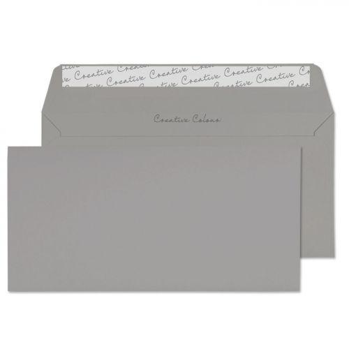 Blake Creative Colour Storm Grey Peel & Seal Walle t 114X229mm 120Gm2 Pack 500 Code 225 3P