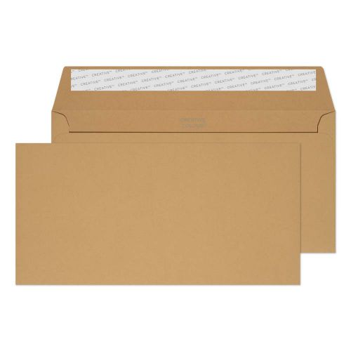 Creative Colour Wallet P&S Biscuit Beige 120gsm DL+ 114x229mm Ref 227 [Pack 500] *10 Day Leadtime*