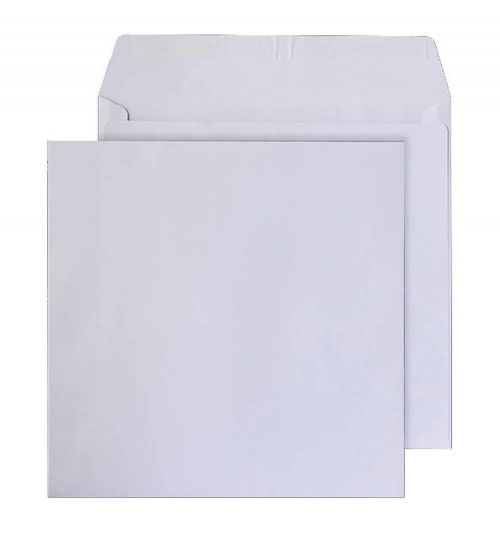 Blake Purely Everyday Ultra White Wove Peel & Seal Square Wallet 300X300mm 120G Pk250 Code 2300Ps 3P