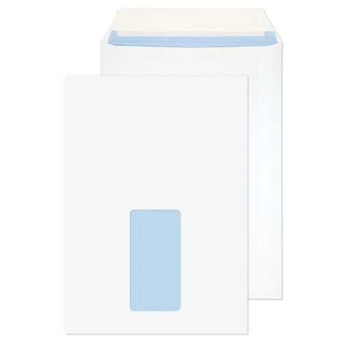 Purely Everyday Pocket P&S Window White 100gsm C5 229x162mm Ref 23084 [Pack 500] *10 Day Leadtime*