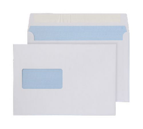 Purely Everyday Wallet P&S Window White 100gsm C5 162x229mm Ref 23708 [Pack 500] *10 Day Leadtime*