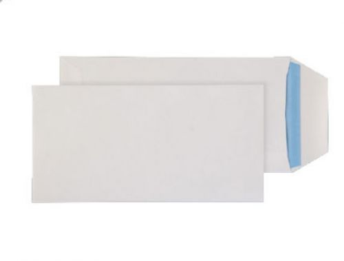 Purely Everyday White Self Seal Pocket DL 220x110mm Ref 23788 [Pack 1000] *10 Day Leadtime*