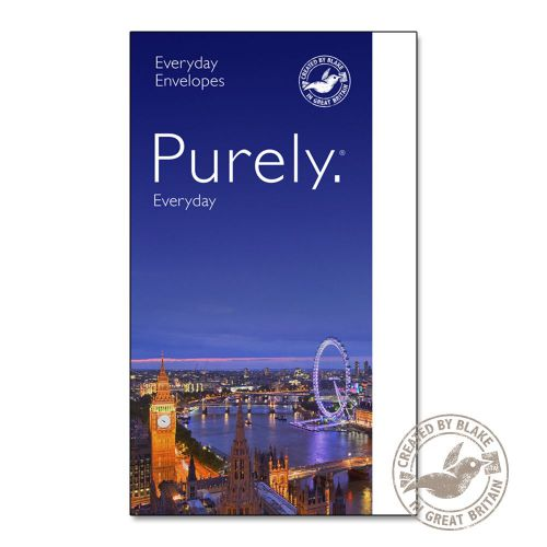 Purely Everyday Wallet P&S Ultra White 120gsm C6 114x162mm Ref 24882PS [Pack 500] 10 Day Leadtime