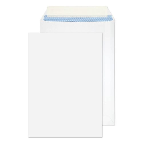 Blake Purely Everyday White Peel & Seal Pocket 229X162mm 100Gm2 Pack 500 Code 23893 3P