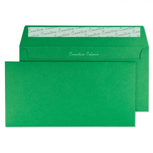 Blake Creative Colour Avocado Green Peel & Seal Wallet 114x229mm 120gsm Pack 25 Code 25208