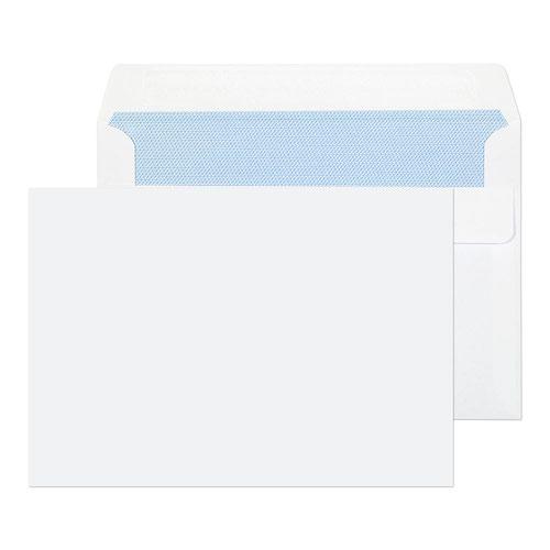 Wallet Self Seal C6 114x162mm White PK1000