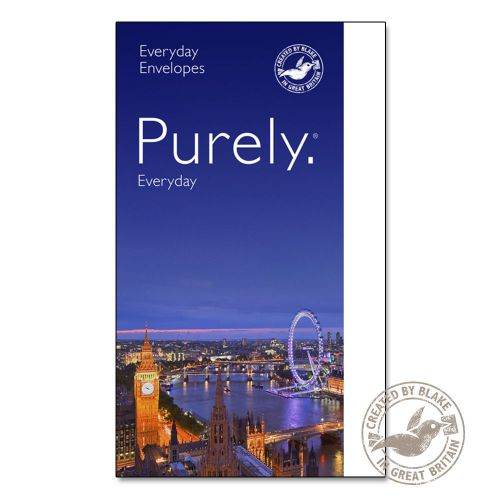 Purely Everyday Wallet Self Seal White 90gsm C6 114x162mm Ref 2602 [Pack 1000] 10 Day Leadtime