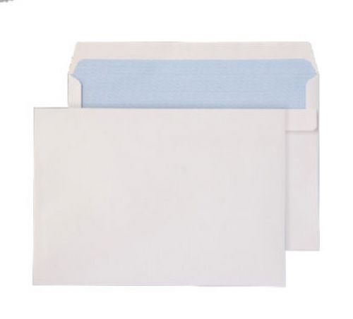 Purely Everyday Wallet Self Seal White 90gsm C5+ 162x238mm Ref 2807 [Pack 500] *10 Day Leadtime*