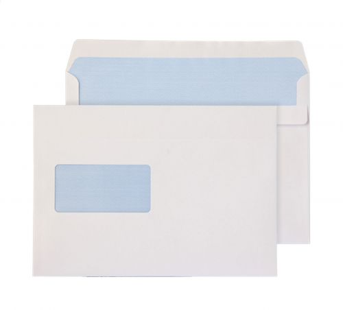 Purely Everyday Wallet Self Seal Window White 90gsm C5+ 162x238mm Ref 2808 Pk 500 *10 Day Leadtime*