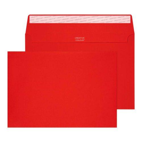 C5 Envelope P Seal Pillar Box Red Pk250
