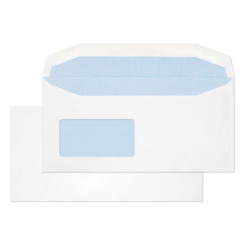 Blake Purely Everyday White Window Gummed Mailer 1 14X229mm 110Gm2 Pack 500 Code 3077Rev 3P