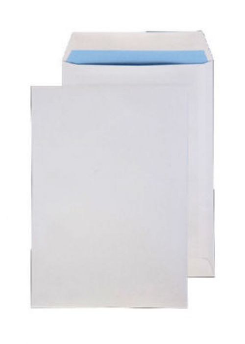 Purely Everyday Pocket Self Seal White 100gsm 254x178mm Ref 3086 [Pack 500] *10 Day Leadtime*