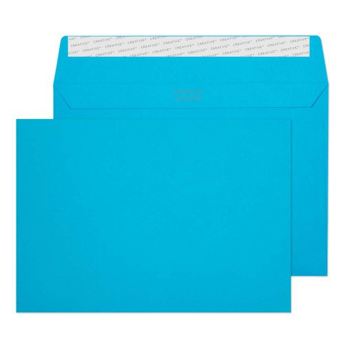 Creative Colour Caribbean Blue P&S Wallet C5 162x229mm Ref 310 [Pack 500] *10 Day Leadtime*