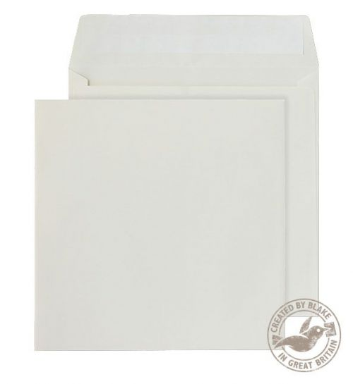 Blake Purely Everyday Cream Peel & Seal Square Wallet 155X155mm 100Gm2 Pack 500 Code 3155Ps 3P