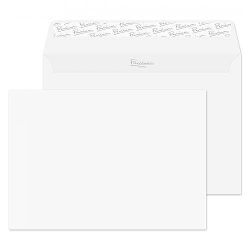 Blake Premium Business Ice White Wove Peel & Seal Wallet 162X229mm 120Gm2 Pack 500 Code 31707 3P